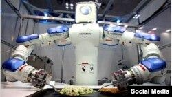 Робот на кухні. Ілюстративне фото