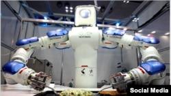 Xidmətçi robotlar artıq çoxdan mövcuddur