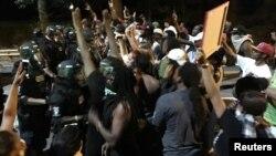 Protestë në Karolinën Veriore