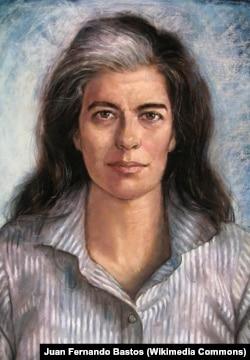 Хуан Фернандо Бастос. Портрет Сьюзен Зонтаг. 2009