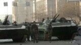 Подразделения Вооруженных сил в Ереване, 2 марта 2008 г.