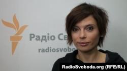 Ирена Карпа в Киевской студии Радио Свобода