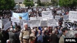 Sa ranijih protesta u Prištini na 1.maj - iz arhive