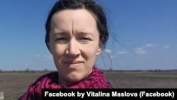 Віталіна Маслова, волонтер, засновниця Центру реабілітації «Творча криївка»