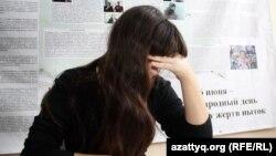 Донецк облысынан келген 17 жастағы Виктория Аврамченко. Орал.