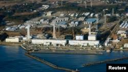 АЕС «Фукусіма-1», фото 11 березня 2013 року