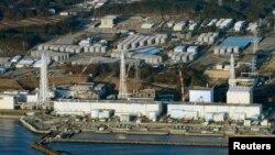 Japoni - Pamje nga ajri e centralit të dëmtuar bërthamor në Fukushima (Ilustrim)