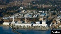 Pamje e centralit atomik Fukushima në Japoni