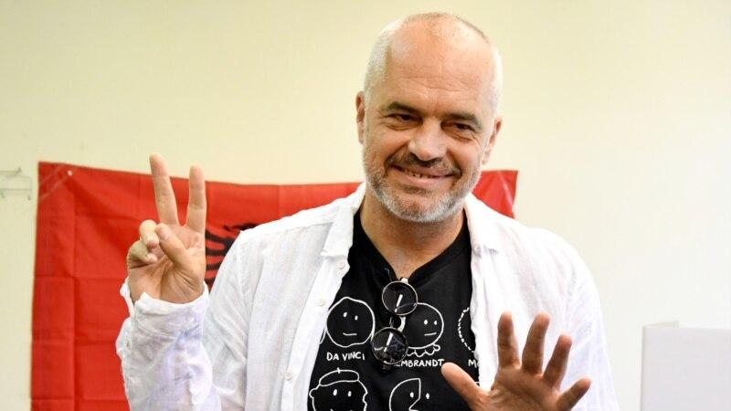 Албанските социјалисти на пат да освојат нов мандат