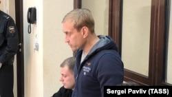 Андрей Филонов на заседании суда. Симферополь, 4 апреля 2019 года