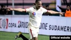 Хосес Рабаналь, футболист из Перу, играющий в Казахстане. Фото с сайта FIFA.
