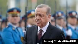 ürkiýäniň prezidenti Rejep Taýyr Erdogan