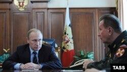 Россия. Владимир Путин и Виктор Золотов. Москва, 05.04.2016