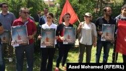 السليمانية: عمال وعاملات يحييون عيد العمال العالمي