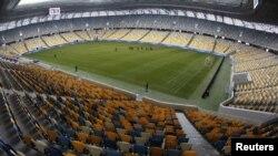 The Arena Lviv stadium in Lviv, Ukraine, one of the Euro 2012 venues.