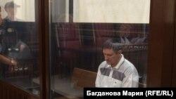 Андрей Бурсин в зале суда. Архивное фото.
