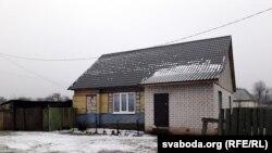 Дом, у якім жыла Натальля Кастрыца, настаўніца-ахвяра братоў Косьцевых