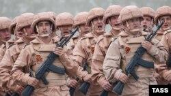 Подразделение российских военных в Сирии. Иллюстративное фото.