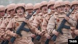 Підрозділ російських військових в Сирії, травень 2016 року
