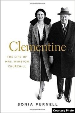 «Клементина. Жизнь миссис Уинстон Черчилль». Обложка книги