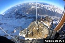 Оглядовий майданчик «Крок у безодню», Альпи