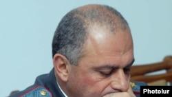 Հայաստանի ոստիկանական ծառայության պետ Ալիկ Սարգսյանը:
