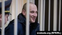 Сьвятаслаў Барановіч на судзе