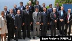 Архивска фотографија: Самитот на шефови на држави и влади на членките на Процесот за соработка во Југоисточна Европа на Свети Стефан во Црна Гора на 30 јуни 2011 година.