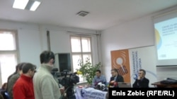 Predstavljanje istraživanja o financiranju izbornih kampanja TIH i GONG-a, Zagreb, 11. siječnja 2012