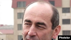 Former Armenian President Robert Kocharian.