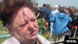 Наталья Томилова, «Шахтерлер отбасы» қоғамдық бірлестігінің төрайымы. Қарағанды облысы, 1 маусым 2009 жыл.