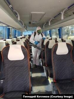 Обработка автобусов
