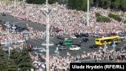 Менск, 16 жніўня, Марш Свабоды.