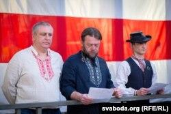 Вадзім Саранчукоў — у цэнтры