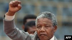 Иллюстративное фото - Нельсон Мандела.