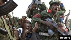 Un prizonier al armatei congoleze, noiembrie 2008
