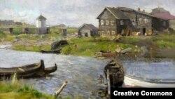 Константин Коровин. На севере, 1899
