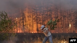 Ситуация с пожарами в России остается чрезвычайной