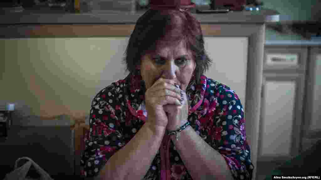 Азры Умерова, мать арестанта, у себя дома в Краснокаменке