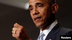 اوباما که به منظور شرکت در نشست ناتو به ورشو، پایتخت لهستان، سفر کرده است