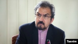 pokesman of Iran's Foreign Ministry, Bahram GHasemi (Qasemi), undated.