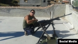 Ռուսաստանցի զինծառայողը՝ Սիրիայում, արխիվ