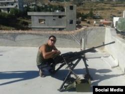 Sirija, vojnik 74. motorizovane brigade (vojna jedinica 21005) Ajas (Šalban-oola) Sarig-ool
