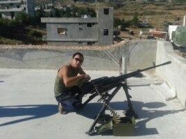 Сирия, военнослужащий 74-ой отдельной мотострелковой бригады (в/ч 21005) Аяс Шалбан-оолович Сарыг-оол