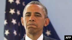 Барак Обама Сенегалдагы маалымат жыйынында Манделанын абалы тууралуу сүйлөп жатат, 27-июнь, 2013
