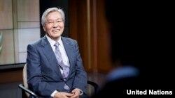 تادامیجی یاماموتو نماینده خاص سر منشی سازمان ملل متحد برای افغانستان