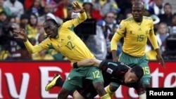 بازی افتتاحیه بین مکزیک و افریقای جنوبی