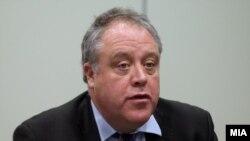 Известувачот на Европскиот парламент за Македонија, Ричард Ховит.