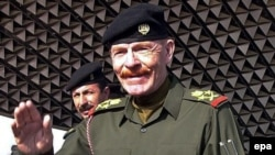 Ezzat al-Douri, a former top aide to late Iraqi President Saddam Hussein. (file photo)