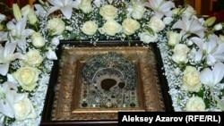 Казанская икона Божией Матери в Алматы